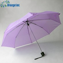 Wholesale special design non drip 3 fold umbrella promotional