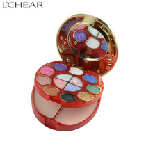 582004 LCHEAR brand cosmetic complete function professional makeup kit with eyeshadow compact powder platte