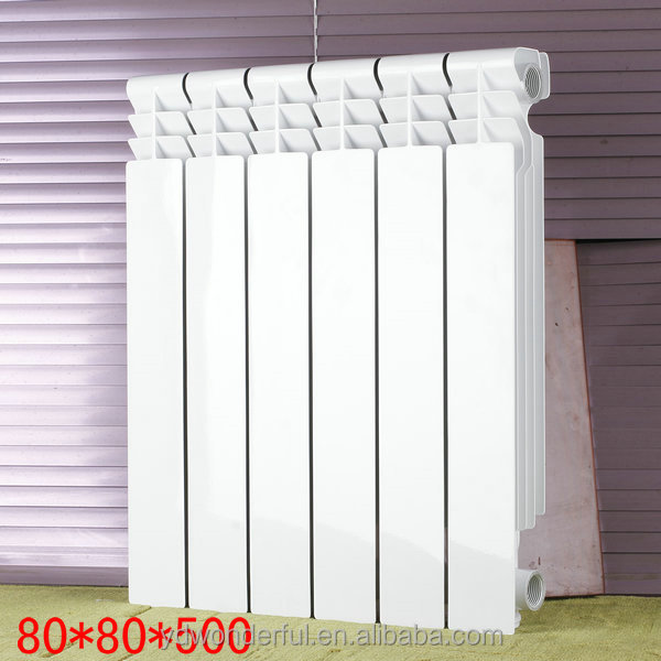 european style, cheap aluminium radiator for sale, wall mounted hot water 580*80*80