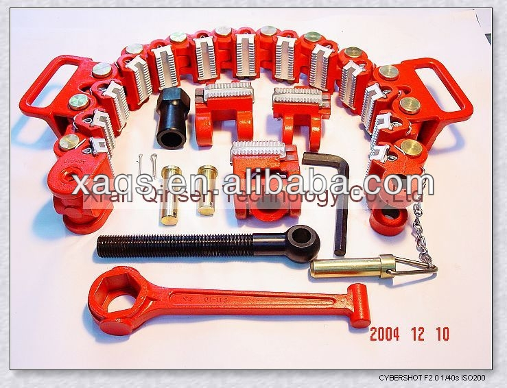 drill collar safety clamp