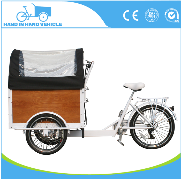 top grade family cargo children electric tricycle cargo bike on sale