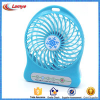 Portable Usb Fan with Strong Wind Rechargeable Electric Mini Usb Fan with Flashlight and Adjustable