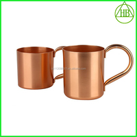 220ml stainless steel thermal coffee cups/double wall stainless steel 220ml coffee cup with carabiner copper cup