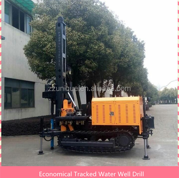 2016 Low Price Crawler Water Well Drilling Rig for Africa & South America