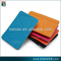 multifunction mini laptop leather case for ipad mini