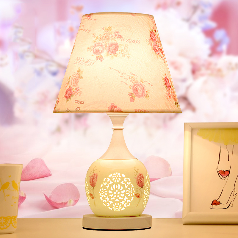 China lighting factory modern table lamp bedroom home remote control desk lamp