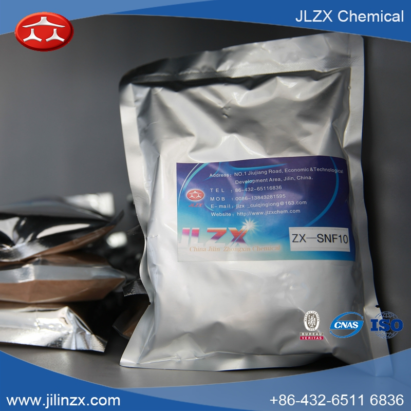 Water reducer for the construction/ jilin JLZX SNF /concrete admixtures/ Sodium Naphthalene Formaldehyde/ nonylphenol ethoxylate
