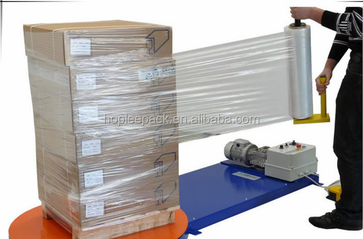 Factory Casting Color Film Transparent Manual LLDPE Stretch film Machine Pallet Wrap