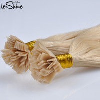 Prebonded Hair Double Drawn Remy Human Wholesale Keratin Flat Tip Hair Extension