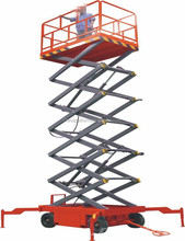 Hydraulic scissor lifts temporary scaffolding lifts for sale