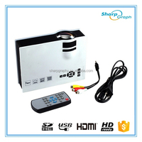 2015 Christmas Cheap 1920x1080 LED Full HD HDMI Digital Projector UC40+
