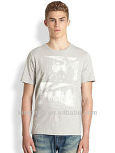 New style 100% cotton men t shirts brand names fashion 2013 in stock