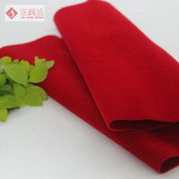China Supplier 100% polyester fabric flock material/ pp spunbond nonwoven fabric For Watch Box and Decoration