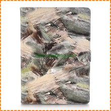 New arrival Painted Pattern Flip PU Leather Card Holder Stand Case for iPad air 1