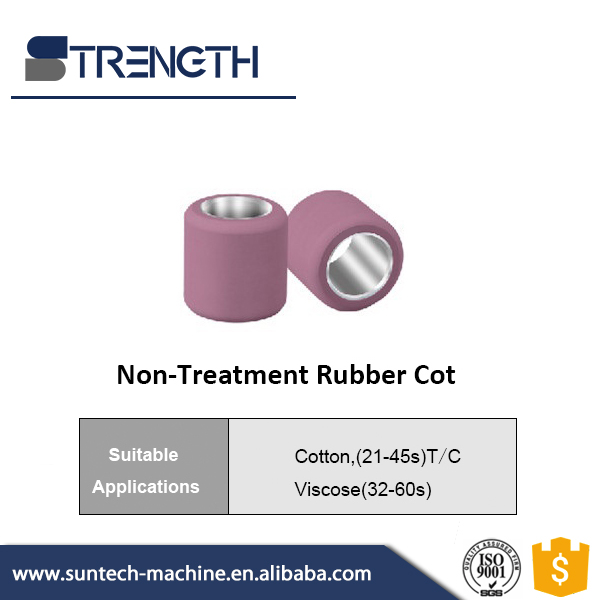 Strength Textile Machine Parts Non-treatment Spinning Rubber Cots