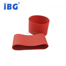 Round grommet Silicone rubber bottle sleeve
