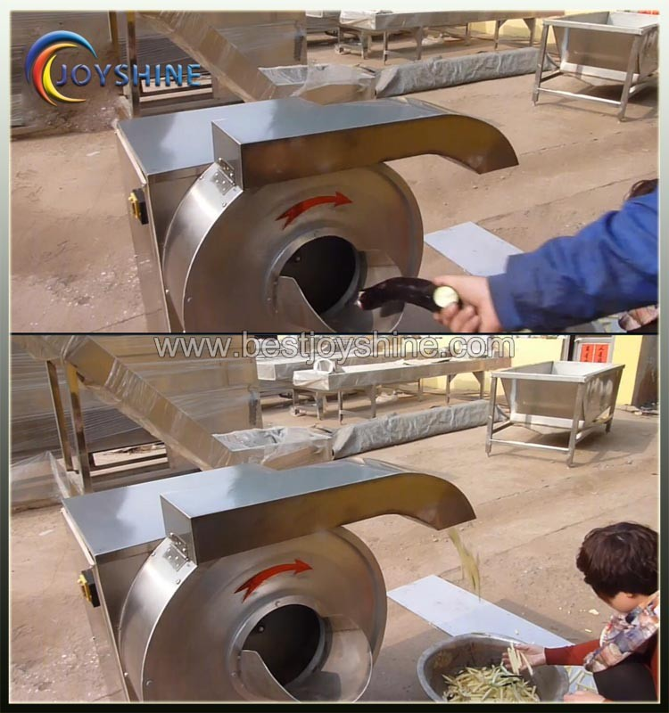 Effective business use sweet potato slicer cutting machine