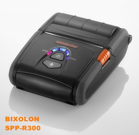 Bixolon SPP-R300 Reliable battery 80mm bluetooth mobile mini thermal printer IOS/Android/Java supported