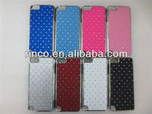 Bling Starry rhinestone Plating Hard Back Case Cover for For Apple iPod Touch 5 5th