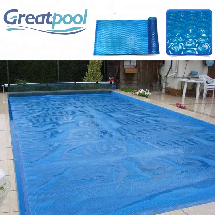 Blue Round Solar Cover Heating Blanket For Above-ground Swimming Pools -  Buy Swimming Pool Covers,Automatic Swimming Pool Covers,Solar Pool Cover ...