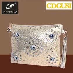 Fashionable hot selling women trendy evening bags