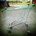 130L Wholesale supermarket China-made shopping Trolley cart