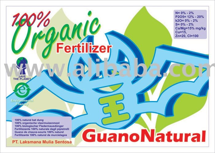 Natural Organic Indonesia Fertilizer