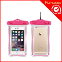 Customized Plastic Travel Waterproof Cellphone Bag