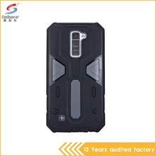 Factory direct supply two in one cover phone case for lg k10