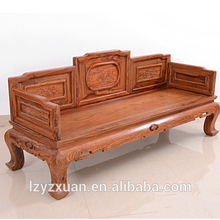 2017 New chinese style exquisite wooden sofa set furniture
