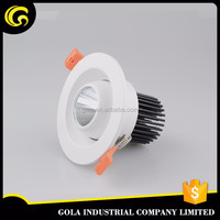 Australia SAA certificate 7w led downlight dimmable cut out 90 mm