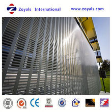 hot-selling low price led 600x1200 aluminum perforated plastic mesh panel (ISO9001 factory)