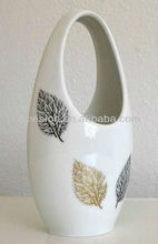 beautiful flower shop ceramic vase wholesale