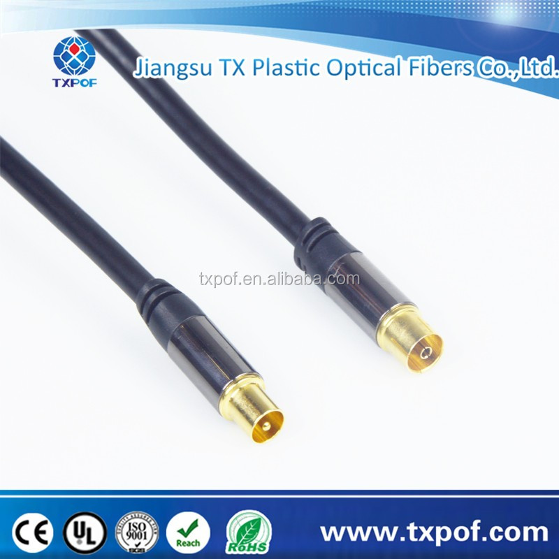 HDTV Antenna cable straight male to straight female coaxial cable