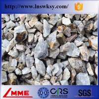 China LMME Hgh purity barite lump/powder for oil drilling API standard with density 4.2 4.25