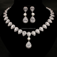 Yiwu Jewelry Factory OEM and ODM Design High Quality Necklace Set Jewelry Set