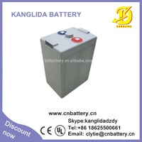 agm battery 2v 200ah for solar/inverter