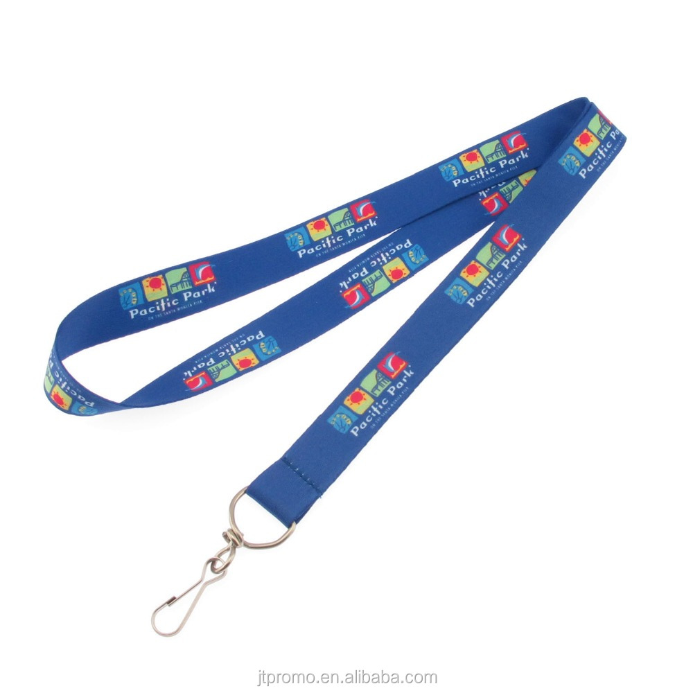 fashion dye design sublimation lanyard printing