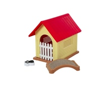plastic large dog house outdoor ,hight quality and eco-friendly