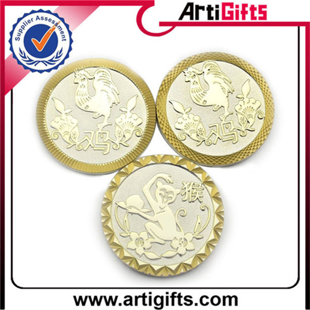Deft design custom silver coin minting