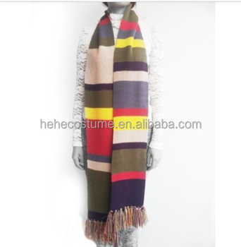 High Quality Doctor Who 4th Dr. Warm Soft Scarf