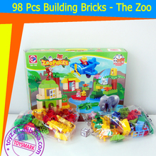 TOYZ 98 Pcs Building Bricks the Zoo toys Building Block Game