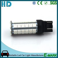 2016 Hot selling t20 1157 7443 auto led bulb, car turn light/stop lamp for USA Market