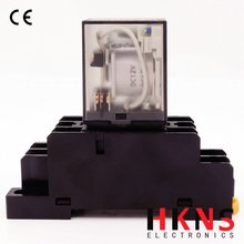12V DC Intermediate relay 8pin 10A CE