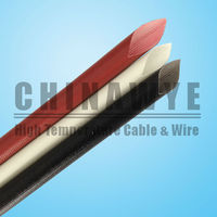 Silicone Resin Fiberglass 4mm Wire Sleeving