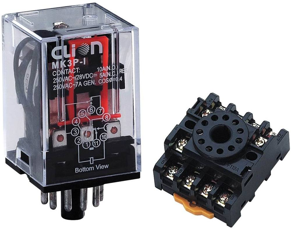 36VDC General-Purpose Relay with CE( MK3P-1)