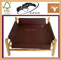 handmade luxury bamboo wooden pet dog beds hammock