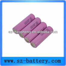 Manufacture large supply rechargeable 18650 lithium power portable heater battery