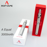 Alibaba Newest arrival e cigarette red kiwi electronic cigarette 3000mAh made in Shenzhen Rofvape with Constant voltage output