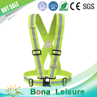 2016 high quality high visibilty safety strap safety vest belt for sport and life safety